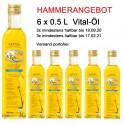 Action 3 + 3 - Huile de Colza Vitalöl au goût de beure